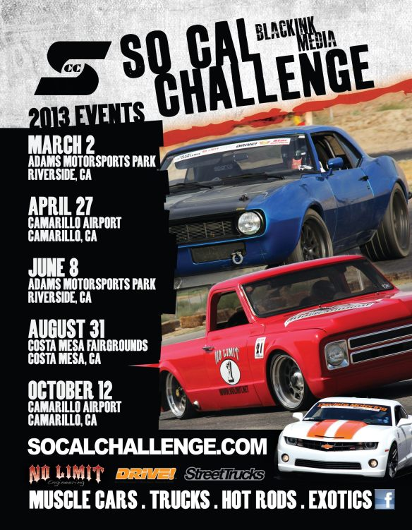 Socal Challenge - 2013 Events